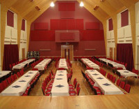 Hire the main hall for larger functions such as weddings, dinner-dances, family parties and concerts